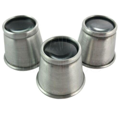 7x /& 5x grossissement Outil Set Aluminium Loupe Lunettes Eye Verre Loupe 10x