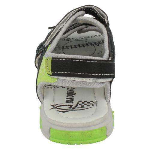 Garçons ZP6R073 Riptape Sandales Par SPOT ON £ 9.99