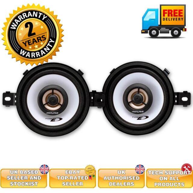 """Alpine SXE0825S SXE-0825S 3.5"""" car speakers 220 watts 2-way coaxial"""