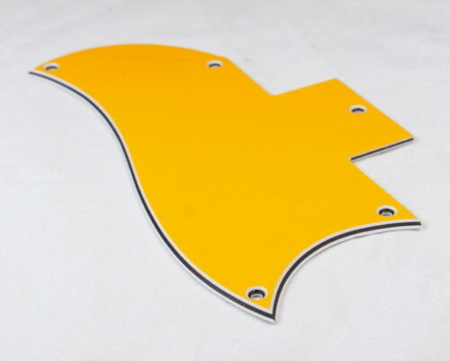 3 Ply Quality Pickguard Fits SG Standard Guitar ORANGE