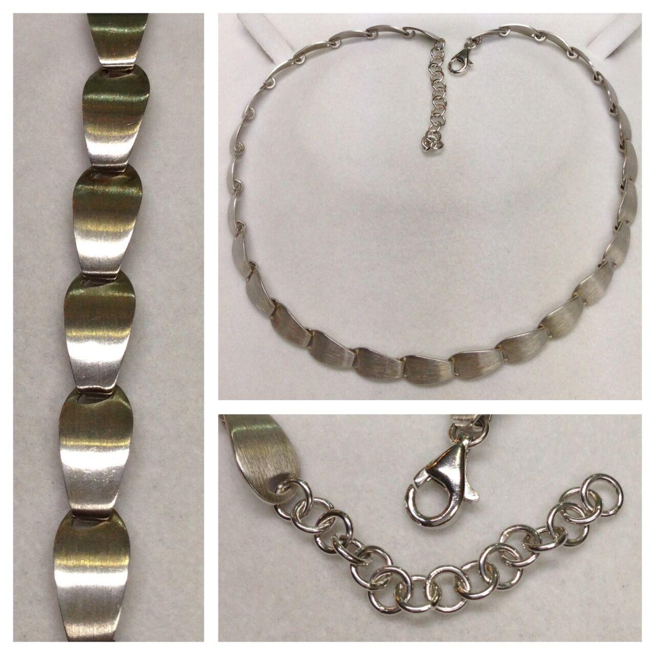 Collana Design 925er IN silver componenti MOBILI modischekette