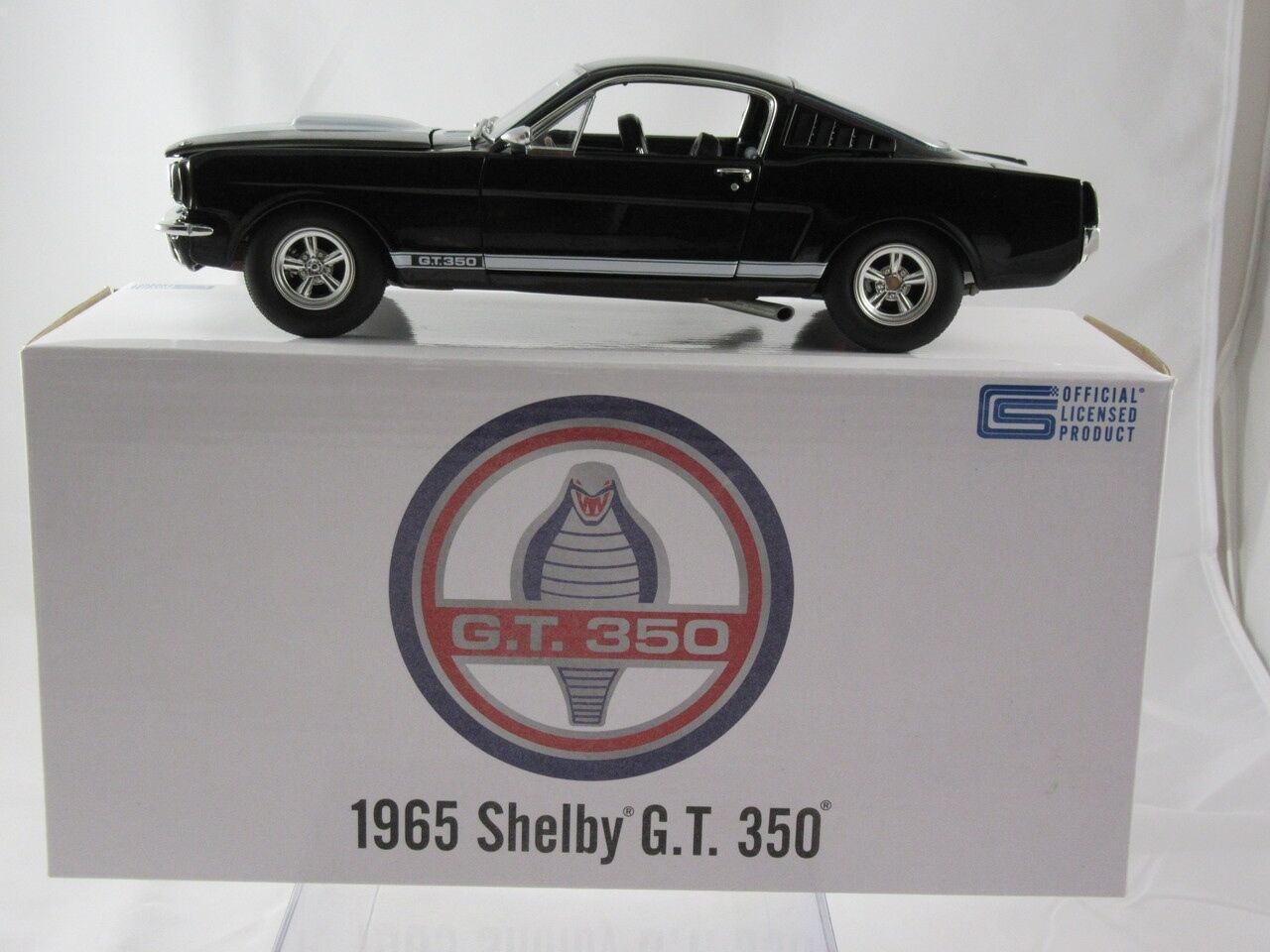 Acme 1965 Ford Mustang Shelby GT350 nero A1801802B