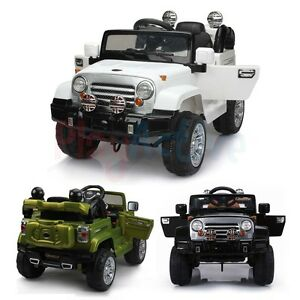 Kids Ride On Jeep Electric Childrens 12v Battery Remote Control Toy