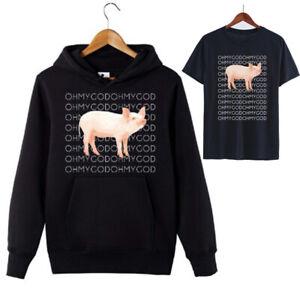 Shane-Dawson-Oh-My-God-Pig-Hoodie-Funny-Ugly-Pig-Sweatshirt-Hooded-Pullover-Tops
