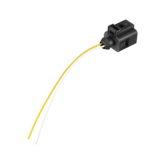 2 Pin Pigtail Plug For VW Audi Replacement 1J0973702