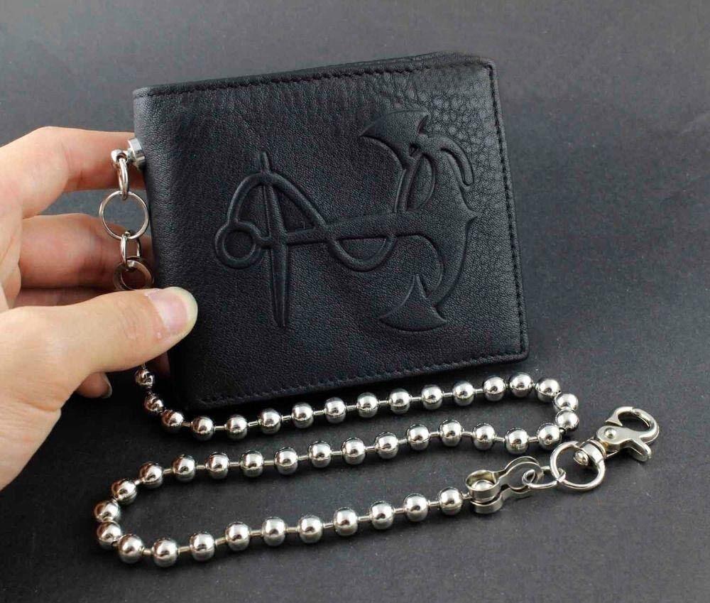 Biker,Trucker,Hip Hop,Rapper Leather Chain C0093 US Mens Jewelry Wallet Chains