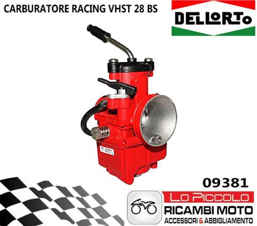 PIAGGIO ZIP SP 50-09381 CARBURATORE DELL/'ORTO VHST 28 BS RACING VALVOLA PIATTA
