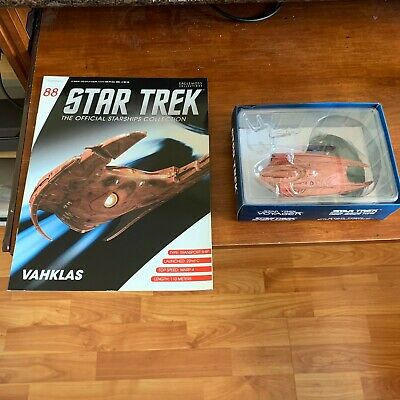 Star Trek Vahklas Model with Magazine #88 by Eaglemoss