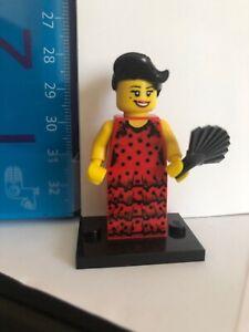 Genuine Lego 8827 Minifigure Series 6 no.6 Flamenco Dancer