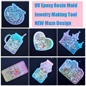 Silicon-Mould-UV-Epoxy-Schimmel-aus-Resin-Werkzeuge-zur-Herstellung-von-Schmuck