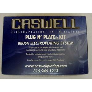 Details about Plug N Plate Nickel + Gold Metal Plating Kit