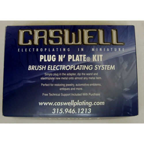 Flash Copper Metal Plating Kit Plug N Plate Nickel