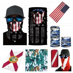 1 Face  Sun Shield Neck Gaiter Balaclava Neckerchief Bandana Headband