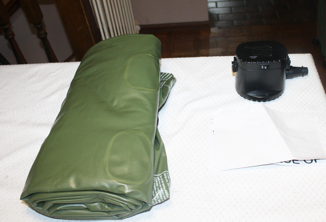 Coleman Twin Single High Inflatable Air Mattress With Pump