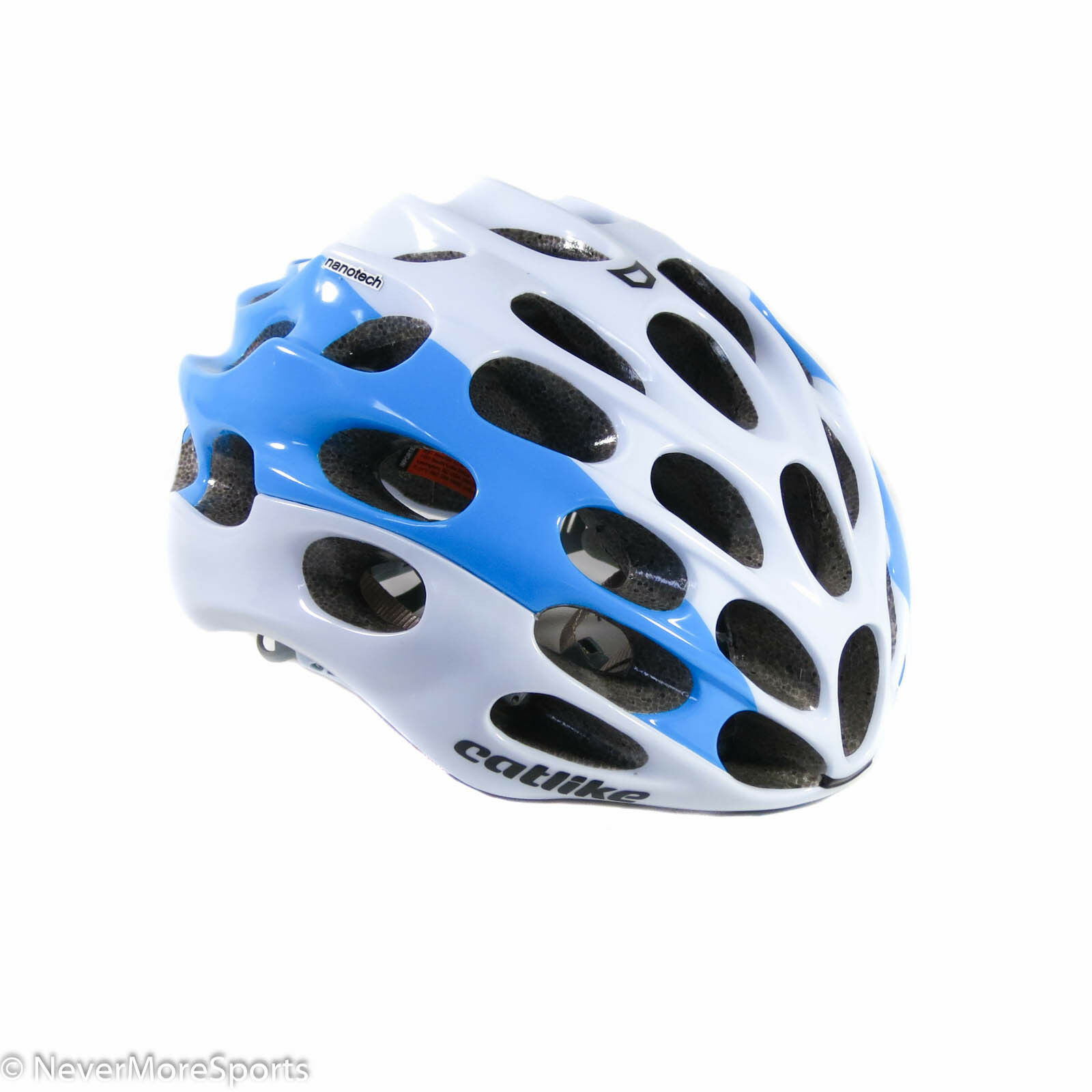 Catlike Mixino Road Bike Helmet Small 52-54cm White bluee 2150034SMSV