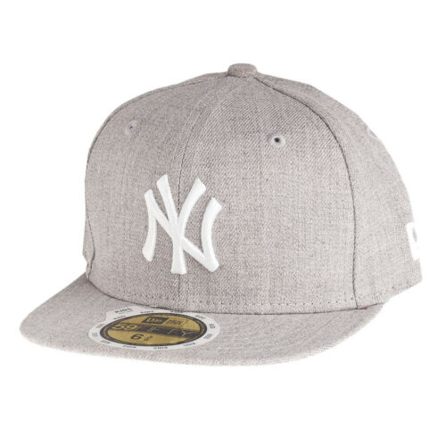 HEATHER NY Yankees grau New Era 59Fifty Fitted KIDS Cap