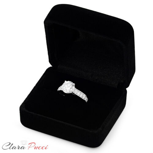 2.35ct Round Cut Wedding Bridal Engagement Anniversary Ring Solid 14k White Gold