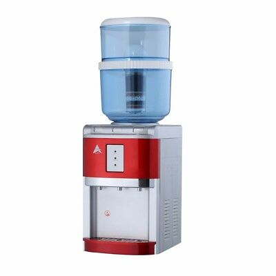 Water Cooler Benchtop chiller purifier hot cold Ambient Awesome Aimex Red