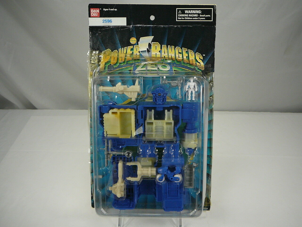 Vintage Bandai Power Power Power Rangers Prototype ROT Battlezord Micro Playset First Shot 319877