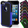 100% Genuine Shockproof Hard Tough 2 in 1 Back Case Cover for iPhone 5 5s 6 6s