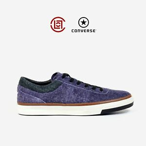 e80c88674c3517 Converse X CLOT One Star CC OX LA Pack Purple Blue Suede Size 8-11 ...