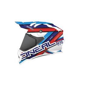ONEAL Helm Sierra II Circuit Wei/ß//Blau