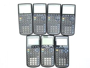 Lot Of 7 TI 83 83 Plus 89 Texas Instruments Graphing Calculator For Parts Repair