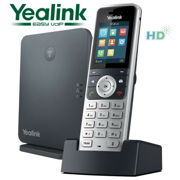 Beminnelijk Yealink W53p Wireless Cordless Dect Handset & Ip Base Station Sip Bekwame Productie
