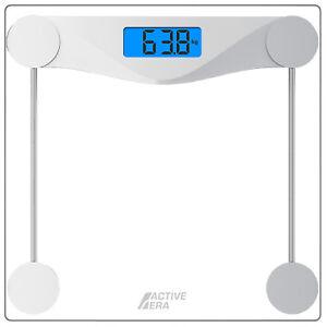 Active Era ® Ultra Slim Numérique Verre Salle de bains échelles-poids corporel jusqu'à 180 kg  </span>