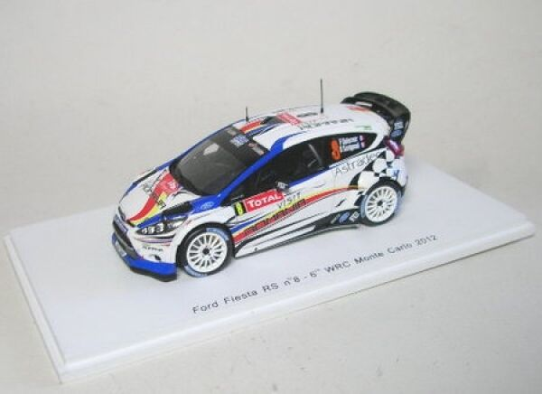 Ford Fiesta RS WRC no. 8 6TH Rally Monte Carlo 2012