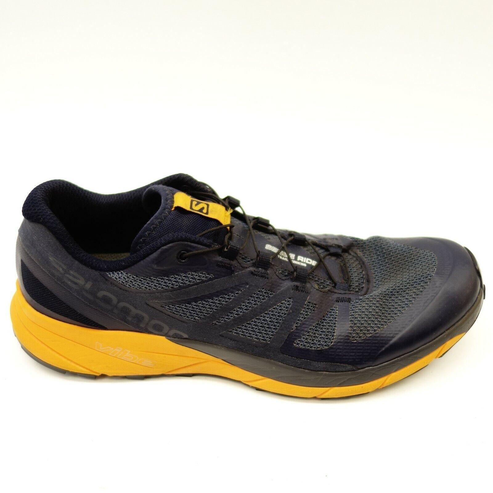 Salomon Mens Dimensione 11.5 Sense Ride blu Athletic Hiking Mountain  Running scarpe  garanzia di credito