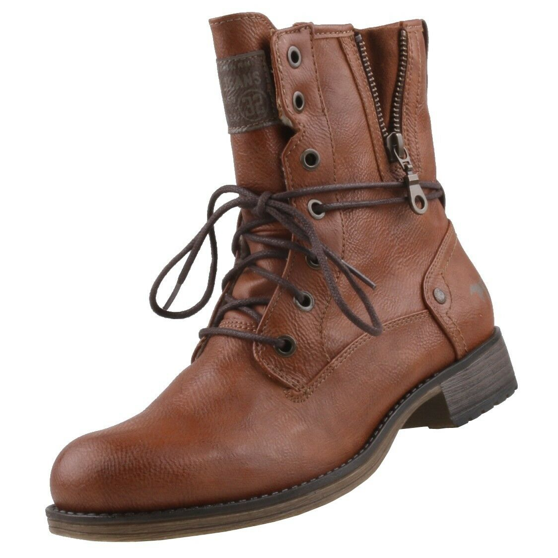 NEU Mustang Damenschuhe Schuhe Stiefeletten gefüttert Stiefel Stiefel Damenstiefel