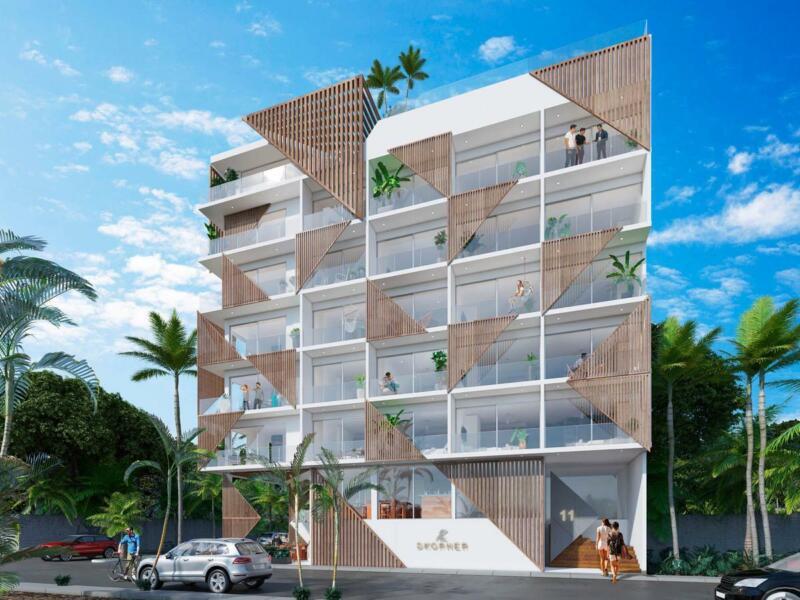 Departamento en venta en Playa del Carmen- DKorner
