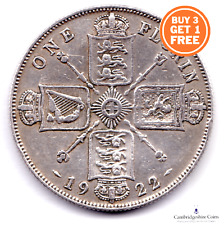 1920 - 1936 BRITISH SILVER TWO SHILLING FLORIN COIN GEORGE V CHOOSE YOUR DATE