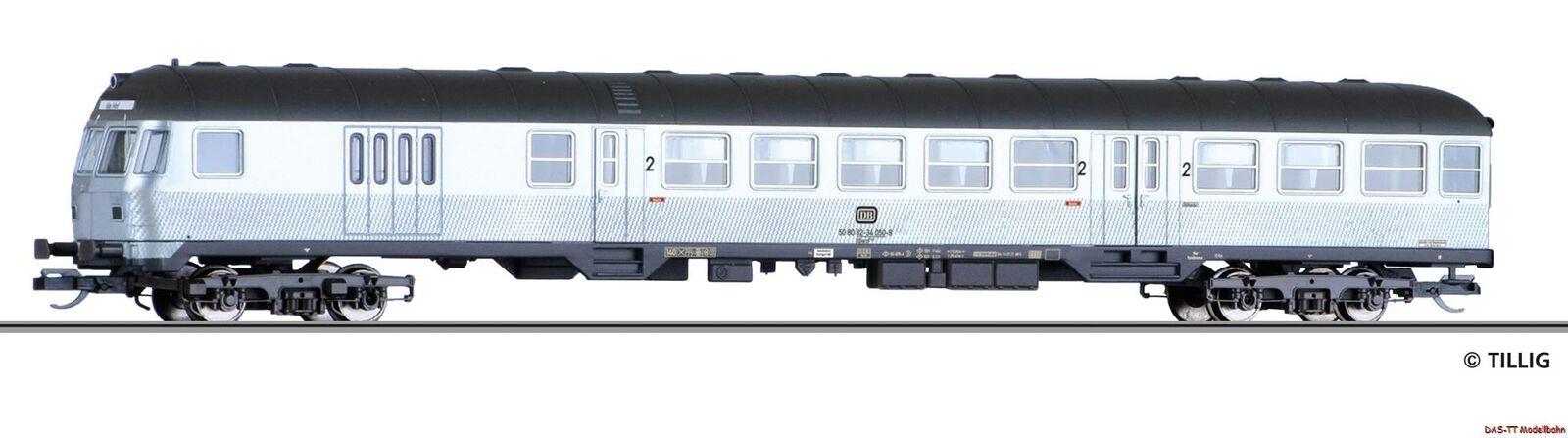 TT carrello fiscali 2.kl. BDNF 740 DB Ep. IV Tillig 13845 NUOVO