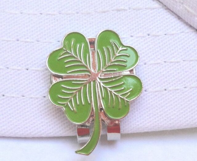 Shamrock Golf Ball Marker - W/Bonus Magnetic Hat Clip