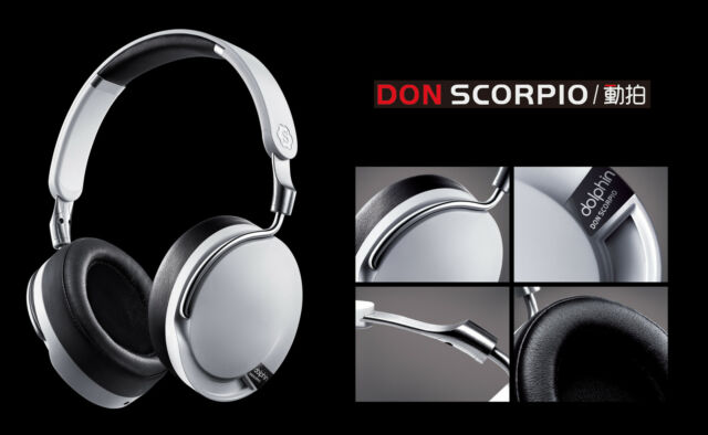 Donscorpio Dolphin Over-ear Headset Professional  HiFi Music Headphones
