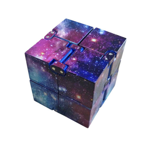 Pocket ABS EDC Infinity Cube Toy For Stress Relief Fidget Anti Anxiety Gift