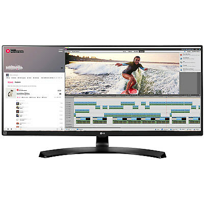 "LG 34UM88C-P 34"" 21:9 UltraWide 3440 x 1440 FreeSync IPS Monitor"
