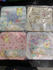 Pokemon Washcloth Set of 4