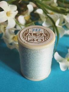 466B-Belle-Coil-Old-DMC-Thread-Cotton-Alsa-N-40-Blue-Azurin-N-747
