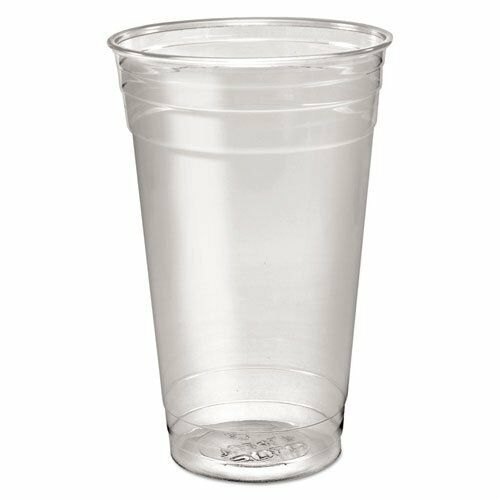 Solo Cup Company TD24 Ultra Clear Pete Cold Cups, 24 Oz, Clear, 50 sleeve, 12