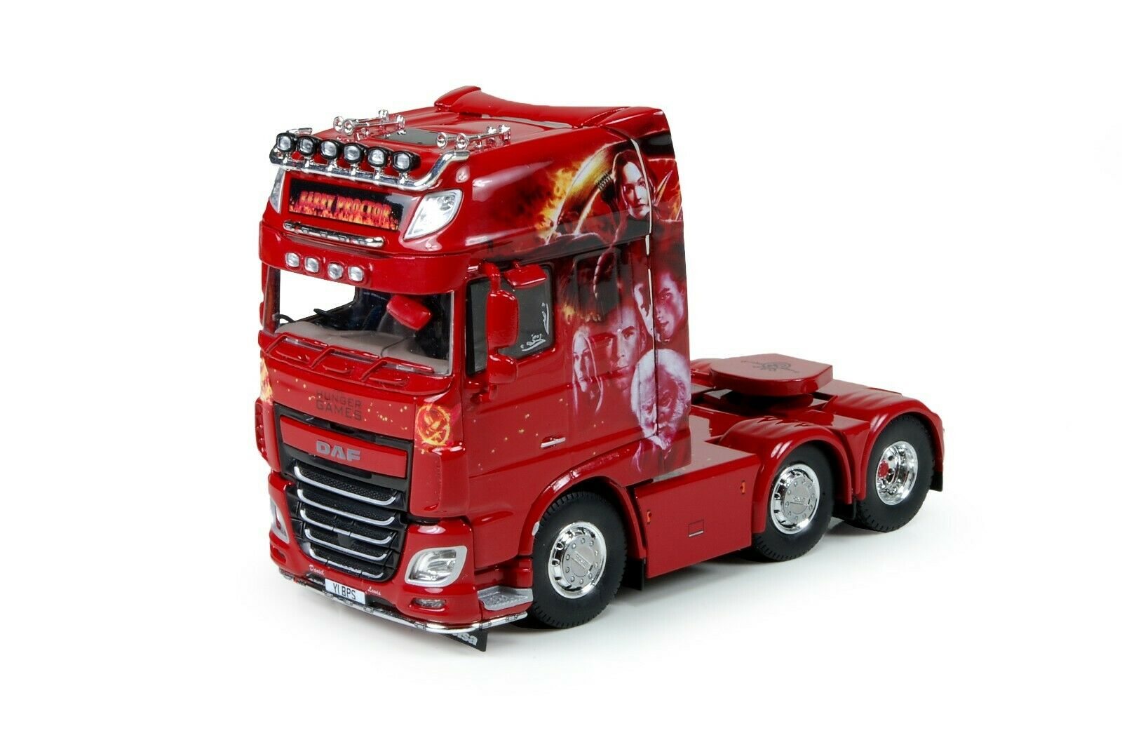 DAF-XF euro 6 6x2 Super Space Cab barry Proctor 72183 Tekno 1 50 1624