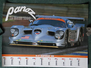 PANOZ-Le-Mans-poster-1998-very-rare