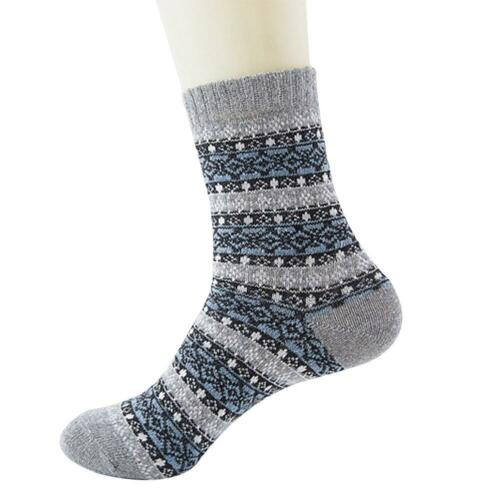 1 Pair Mens Socks 100/% Wool Cashmere /& Comfortable /& Warm Winter Thick Cost HOT