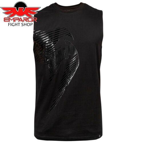 Venum Tank Top Giant Plasma Schwarz Kampfsport Boxen MMA Shirt Herren S M L XL