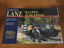 POLA G Scale Train Accessory / 1849 Lanz Crawler Tractor /