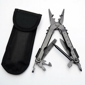 Outdoor Survival 13 Pocket In1 Multi Compact Steel Tool Plier Portable Stainless