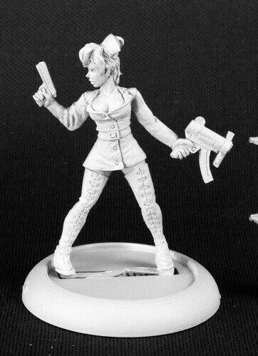 1x centaur female-bones reaper figurine miniature rpg rpg centaur lance 77264