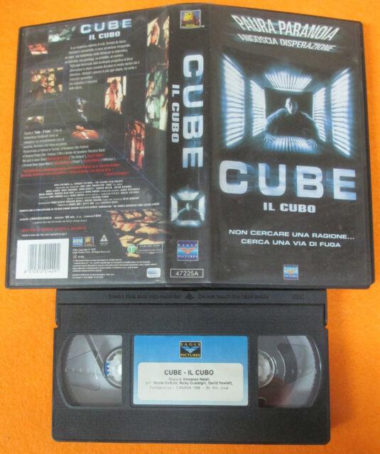VHS film CUBE IL CUBO 2000 Nicole Deboer Maurice Dean Wint FOX (F46*) no dvd
